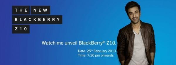 Ranbir Kapoor Cool Smiling Look Photo Shoot For BlackBerry India Print Ad
