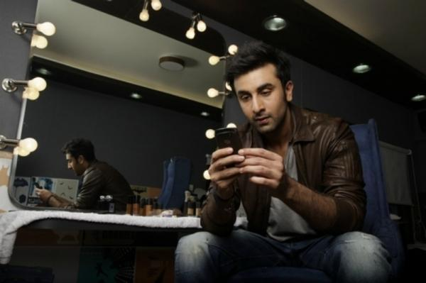 Ranbir Kapoor Nice Photo Shoot For BlackBerry India Print Ad