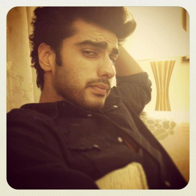 Arjun Sleepy Look Photo Clicked On The Sets Of Film Gunday