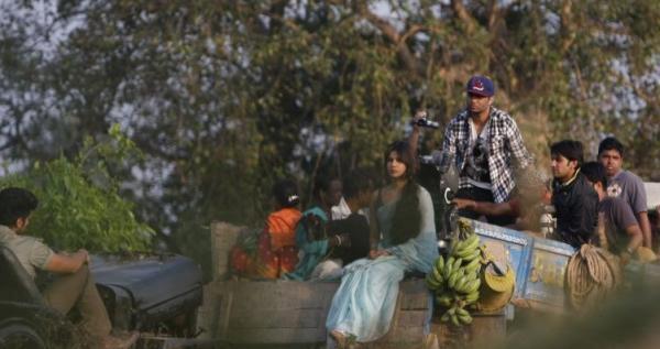 Priyanka Latest Photo Still From The Sets Of Gunday
