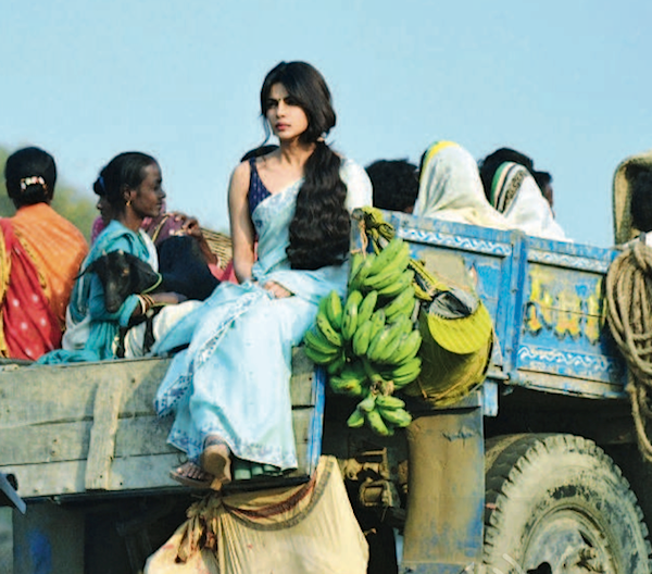 Priyanka On A Truck Photo Clicked On The Sets Of Film Gunday