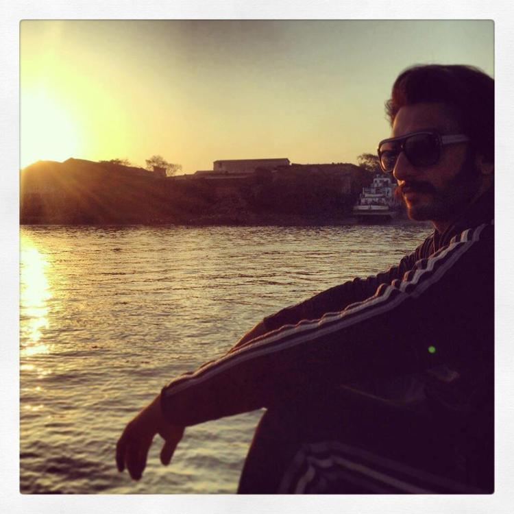Ranveer Dashing Look Photo Clicked On The Sets Of Film Gunday