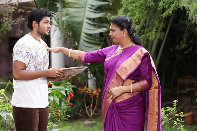 Kaushik And Roja Acting Photo Still From Movie Pavitra