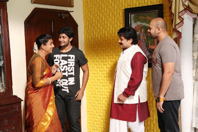 Sai Kumar,Roja And Kaushik New Photo Still From Movie Pavitra