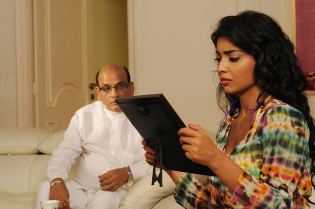 Shriya And AVS Nice Look Photo Still From Movie Pavitra