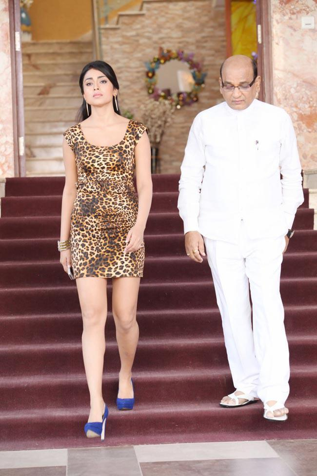 Shriya And AVS Walking Photo Still From Movie Pavitra