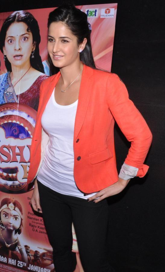 Katrina Kaif Make An Appearance At Main Krishna Hoon Promotional Event