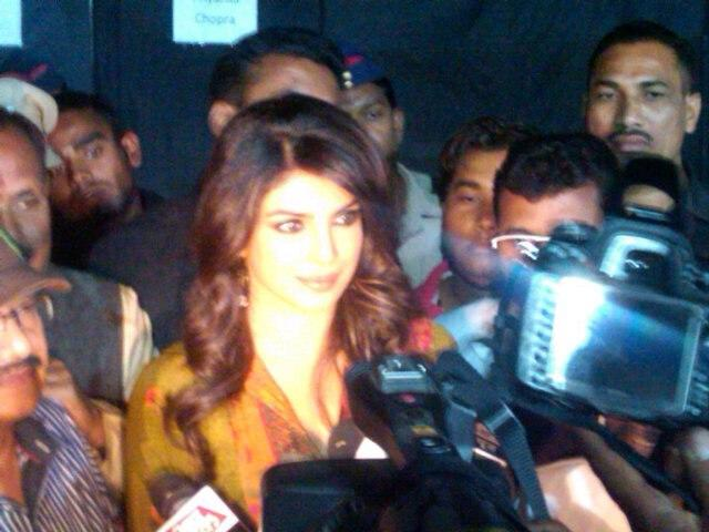 Priyanka Chopra Arrived At An Eye Donation Event In Pune