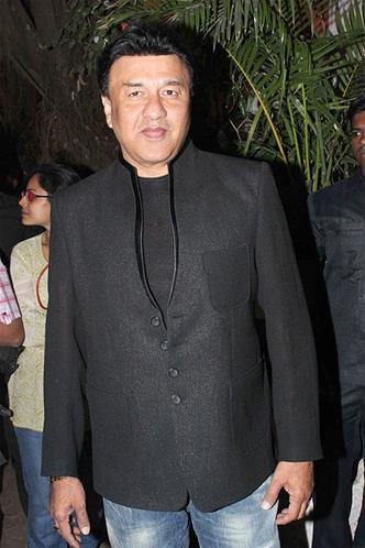 Anu Malik Spotted In A Black Coat At Sanjay Leela Bhansali Birthday Bash