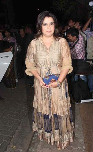 Farah Photo Clicked At Sanjay Leela Bhansali Birthday Bash