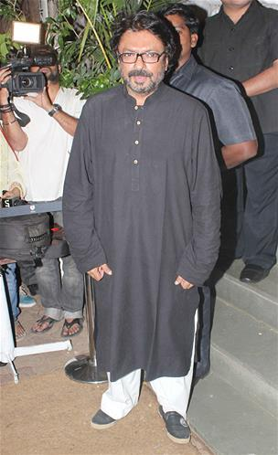 Sanjay Leela Bhansali Posed For Camera At His Birthday Bash
