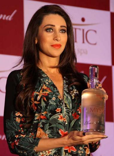 Karisma Kapoor Attend The Mystic Almond Massage Oil Launch Event