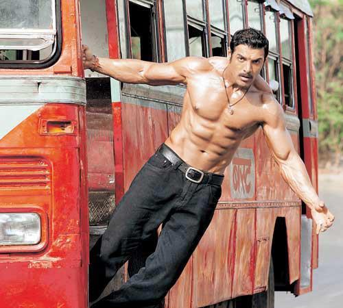 First Look Of  John Abraham From Shootout At Wadala