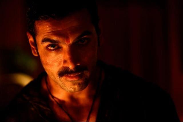 John Abraham Nice Expression Photo Still From Movie Shootout At Wadala