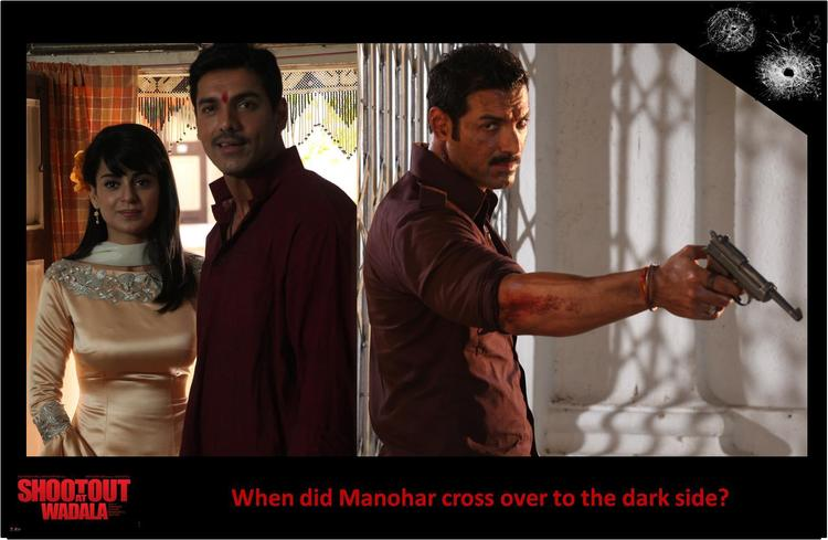 John And Kangna Exclussive Photo Still From Movie Shootout At Wadala
