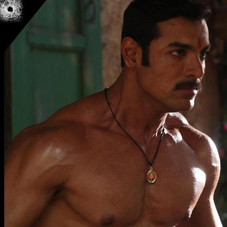 John Angry Expression Photo Still From Movie Shootout At Wadala