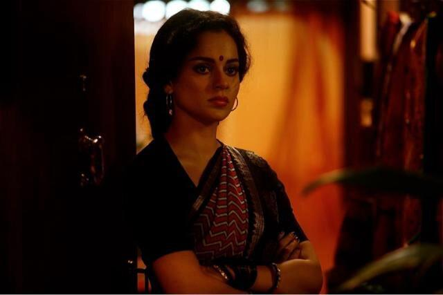 Kangna Simple Look Photo Still From Movie Shootout At Wadala