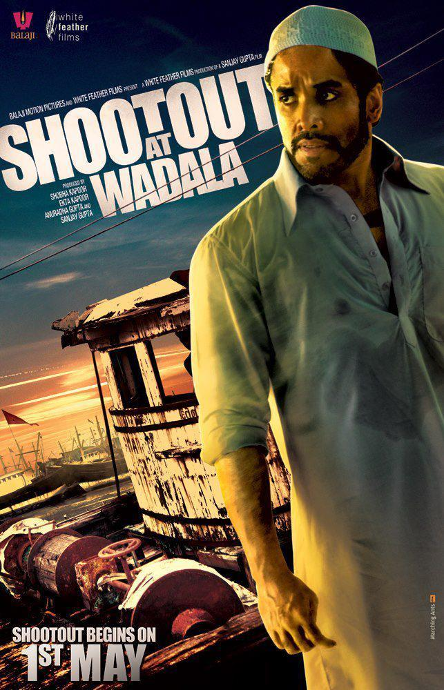 Tusshar Brand New Poster Of Movie Shootout At Wadala
