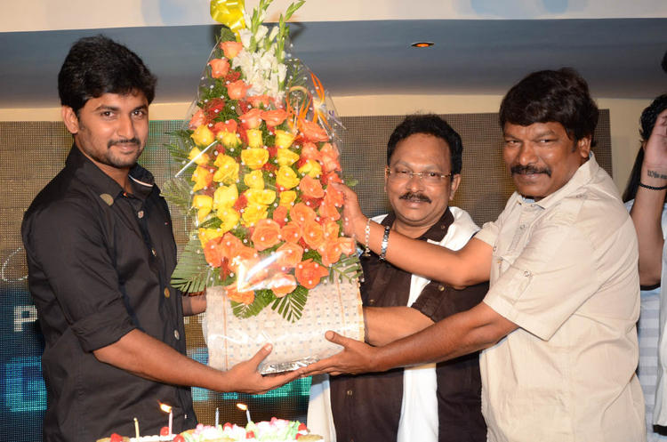 Nani And Ramesh Cooled Still At Actor Nani Birthday Bash