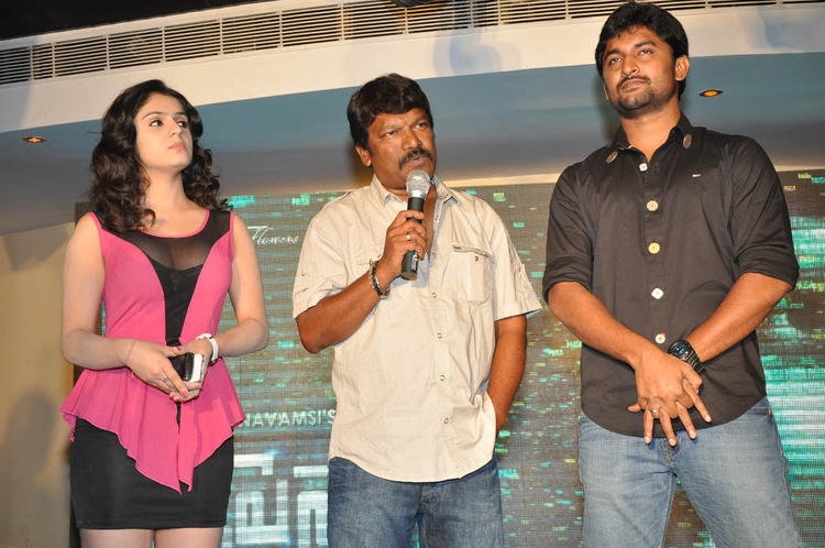 Krishna Vamsi Speaks And Nani,Lucky Looks On At Paisa Movie Logo Launch Function