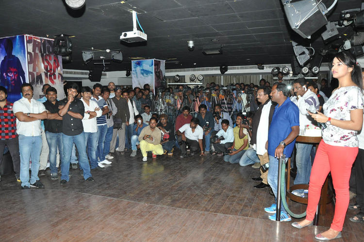 Nani,Ramesh And Others Clicked Photo At Paisa Movie Logo Launch Function