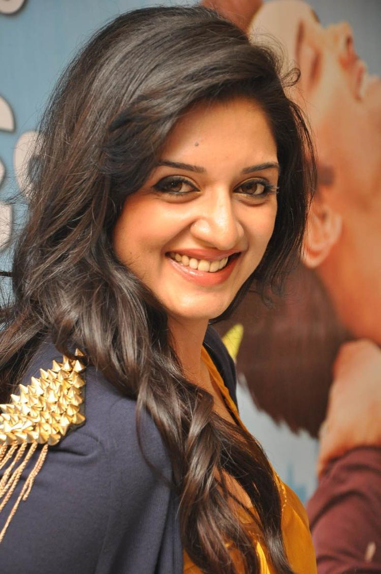 Vimala Raman Cute Face Look Still At Chukkalanti Ammayi Chakkanaina Abbai Press Meet