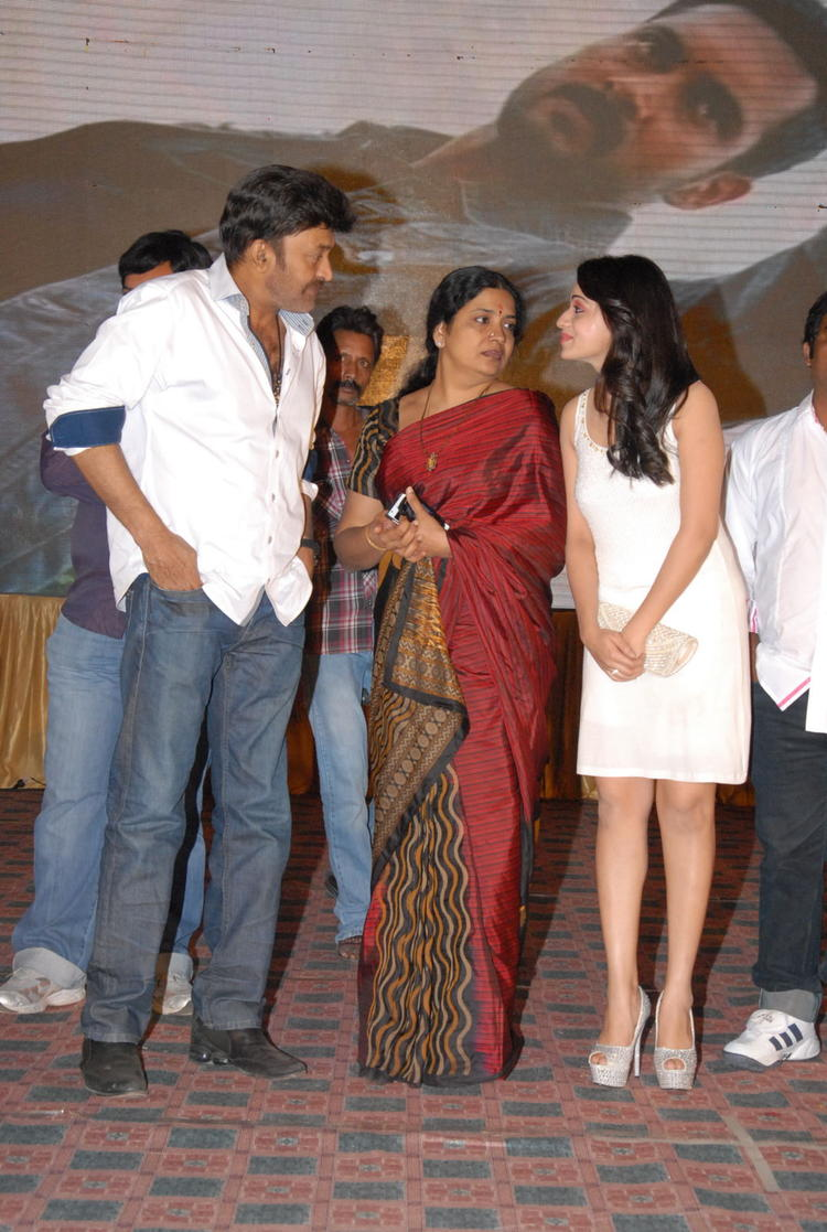 Reshma,Rajasekhar And Jeevitha Snapped At Jai Sriram Audio Launch Function