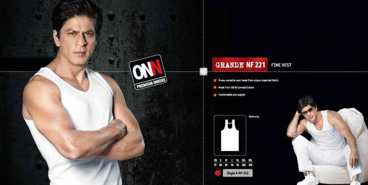 Shahrukh Khan In Fine Vest  Ad For Lux Cozi ONN