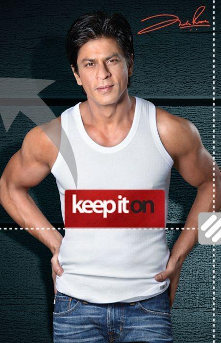 Shahrukh Photo Ad For Lux Cozi ONN