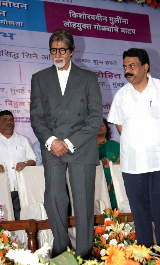 Amitabh Bachchan Unveils Clean Mumbai Campaign 2013