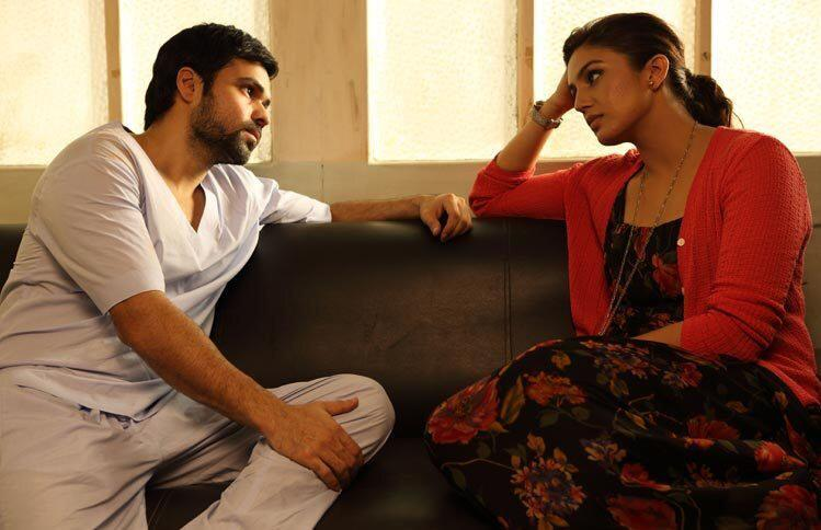 Emraan And Huma In Thought Mood Photo Still From Movie Ek Thi Daayan