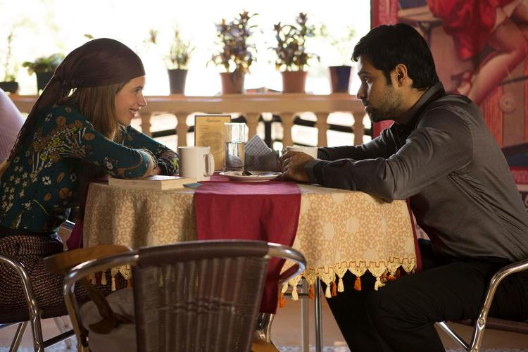 Emraan And Kalki On Dinner Table Photo Still From Movie Ek Thi Daayan