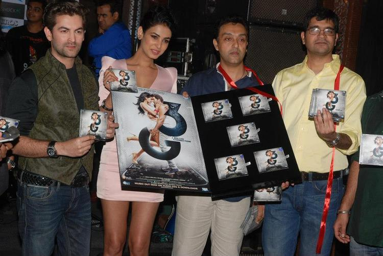 Neil And Sonal Launch The Music At 3G Movie Music Launch Event