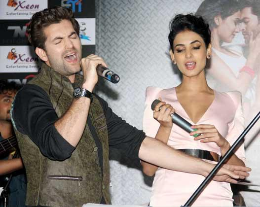 Neil And Sonal Sing Song At 3G Movie Music Launch Event