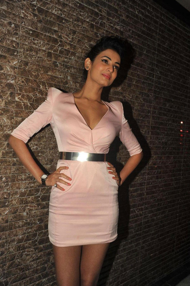 Hot Sonal Chauhan Strikes A Glamour Pose At 3G Movie Music Launch Event