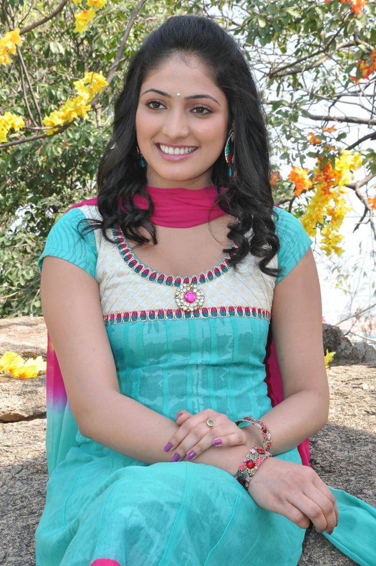 Haripriya Glamorous Look Photo Still At Ee Varsham Sakshiga Movie Launch Function