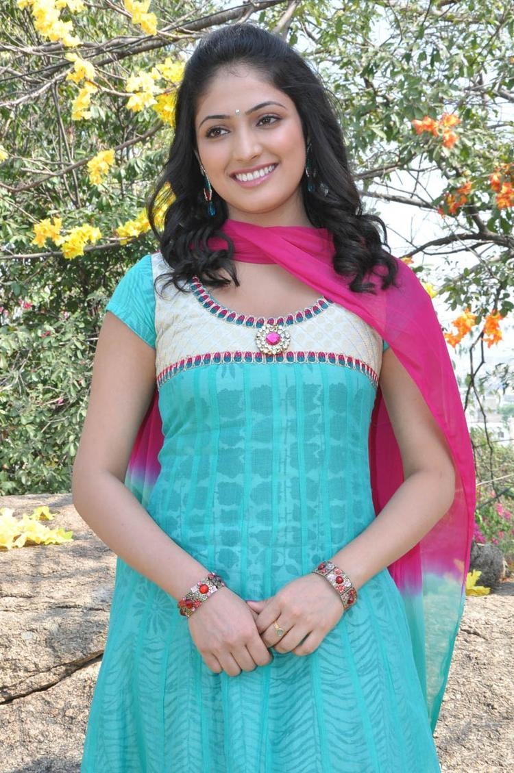 Haripriya Looked Beautiful At Ee Varsham Sakshiga Movie Launch Function
