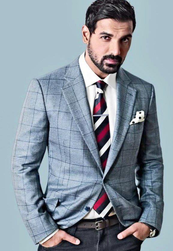 John Abraham Dappers In Suit Photo Shoot For GQ India Magazine March 2013
