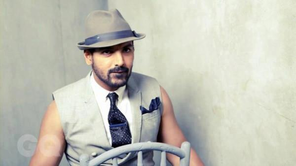 John Abraham Wears A Hat Nice Photo Shoot For GQ India Magazine March 2013