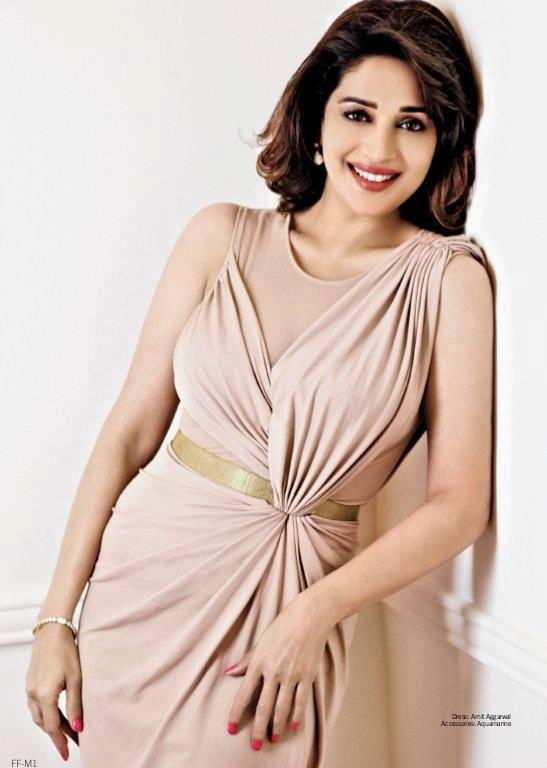 Madhuri Dixit Gorgeous Look Photo Shoot For Filmfare March 2013
