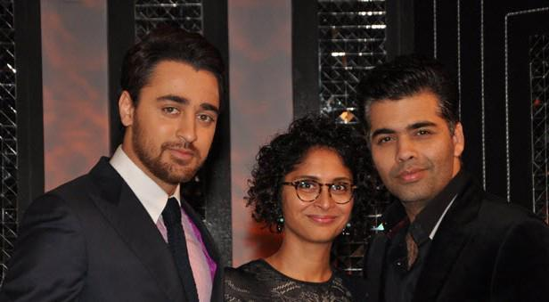 Imran,Kiran And Karan Spotted On The Front Row Show