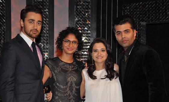 Imran,Kiran,Anupama And Karan Posed On The Front Row Show