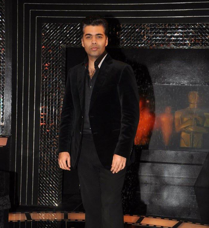 Karan Johar Handsome Look On The Front Row Show