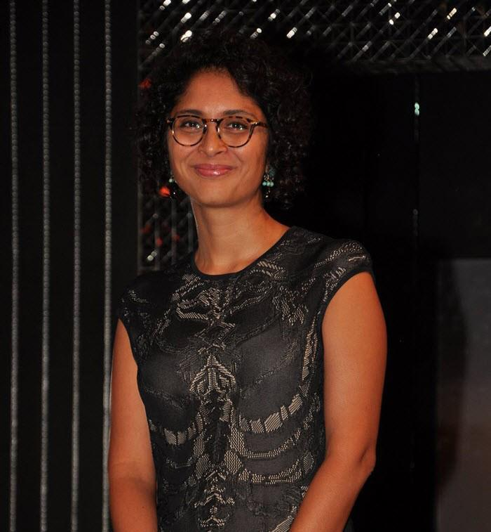 Kiran Rao Cute Face Look On The Sets Of Front Row