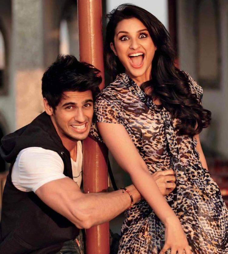 Sidharth Malhotra And Parineeti Chopra Cool Smiling Photo Shoot For Stardust March 2013 Issue