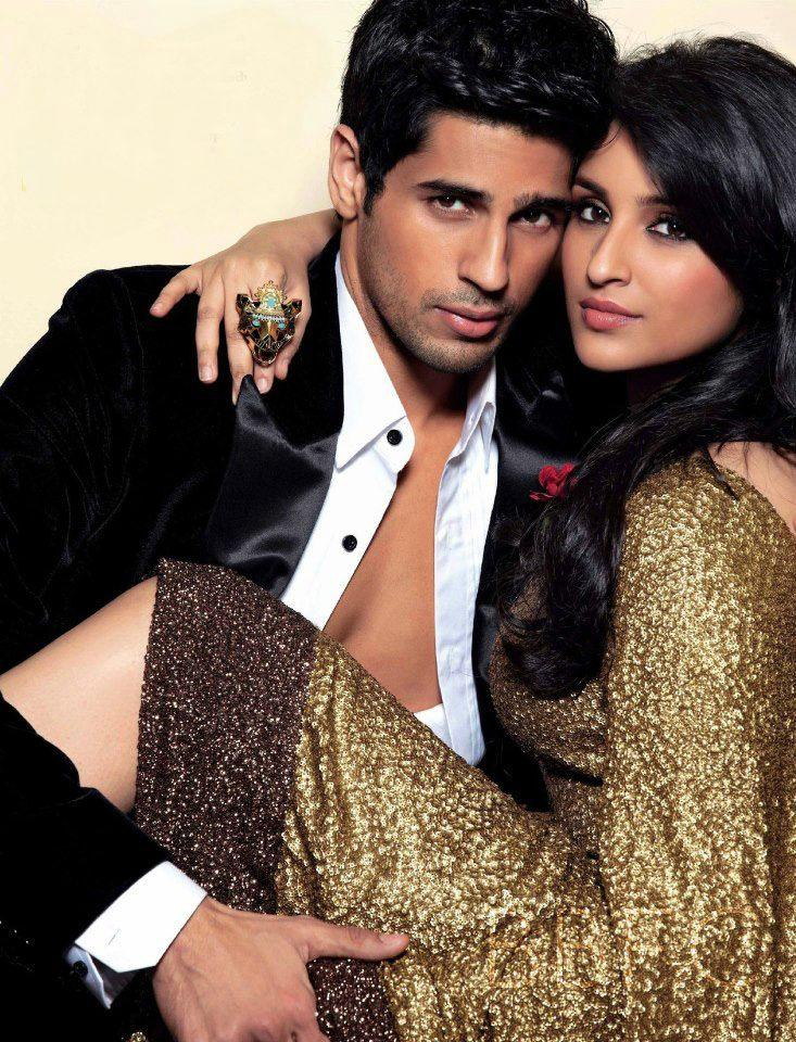 Sidharth Malhotra And Parineeti Chopra Hot Look Photo Shoot For Stardust March 2013 Issue