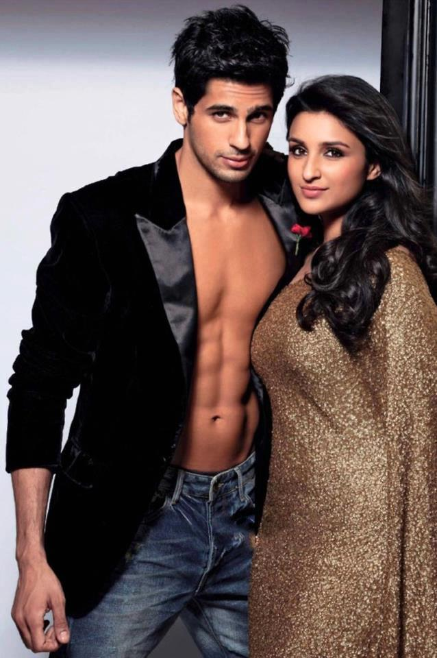 Sidharth Malhotra And Parineeti Chopra Nice Photo Shoot For Stardust March 2013 Issue