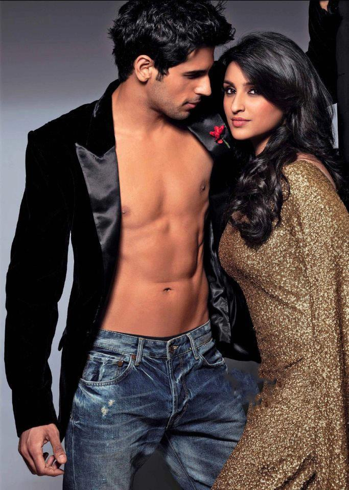 Sidharth Malhotra And Parineeti Chopra Photo Shoot For Stardust March 2013 Issue