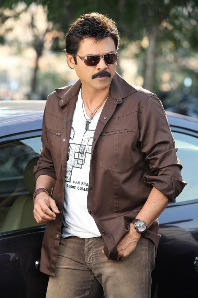 Venkatesh Stylish Look From Shadow Movie