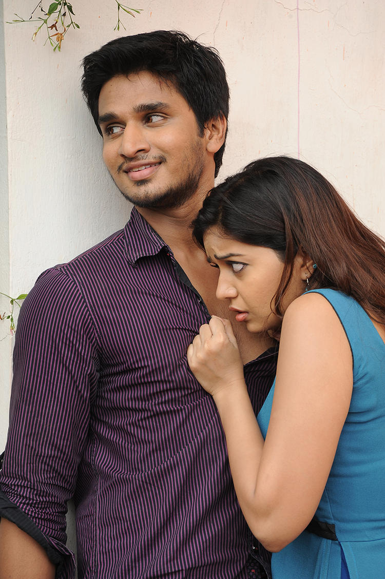 Nikhil And Swati Nice Still From Swami Ra Ra Movie